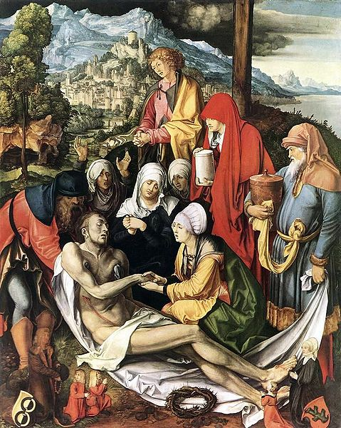 Albrecht Durer Lamentation for Christ