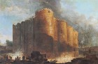 Demolition of the Bastille by Hubert Robert