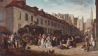 Boilly The Arrival of the Stagecoach