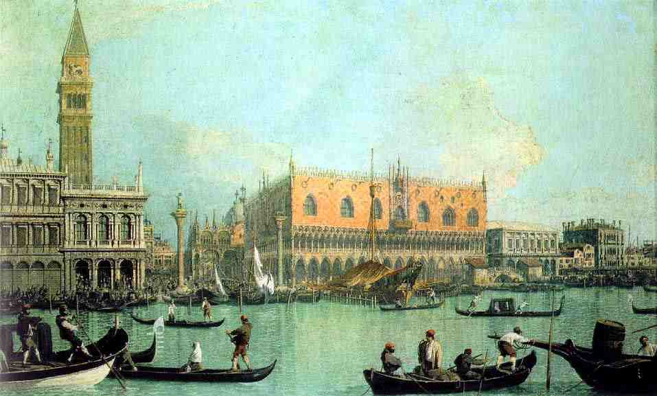 Canaletto Venice Ducal Palace