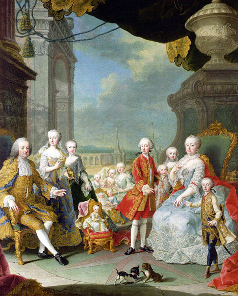 Maria-Theresa-and-the-imperial-family