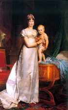 Empress-Marie-Louise-and-the-king-of-rome-Gerard