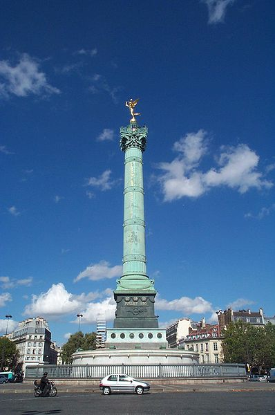 Placede la Bastille today, copyright 2004 Kaihsu Tai