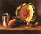 Still life with Pumpkin by François Bonvin