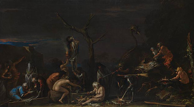 Salvator-Rosa-witches-at-their-incantations
