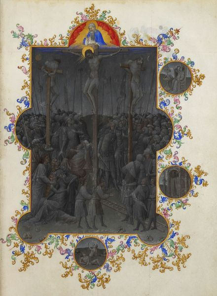 Tres Riches Heures du Duc de Berrry Death of Christ Tenebrae