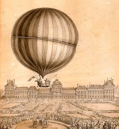 Tuileries hot air balloon