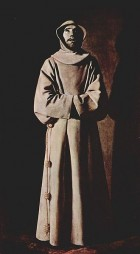 Zurbaran St Francis of Assisi