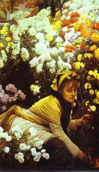 chrysanthemums-James-Tissot