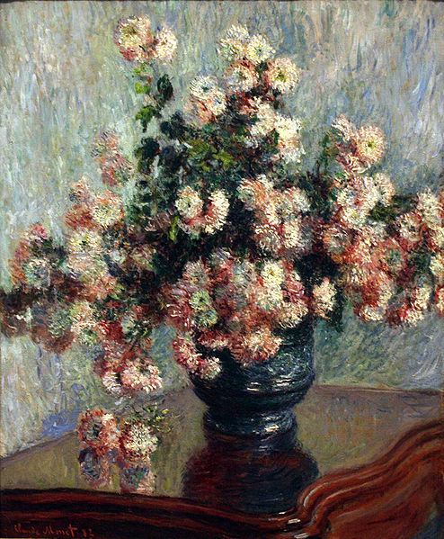 chrysanthemums-Monet