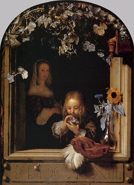 frans-van-mieris-boy-blowing-bubbles