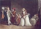 Louis XVI farewell to his family
