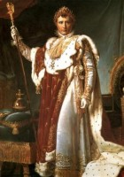 Napoleon in coronation robes Gerard
