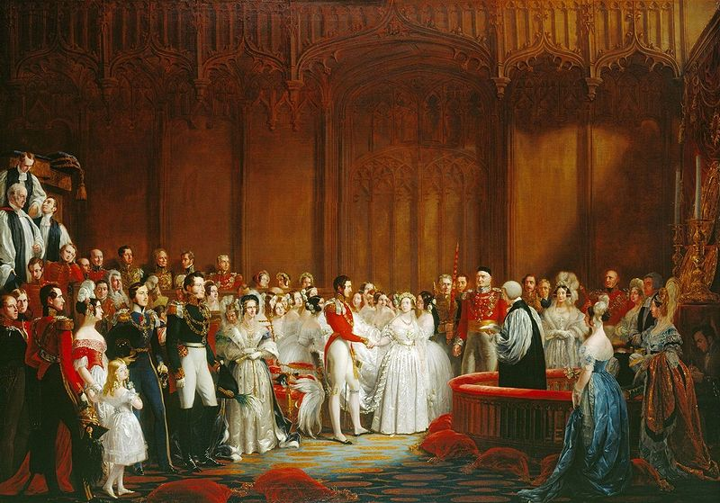 queen-victoria-prince-albert-wedding