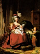 Marie-Antoinette-and-her-children-by-Vigee-Lebrun