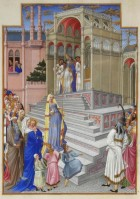 Tres Riches Heures du Duc de Berry Purification of the Virgin